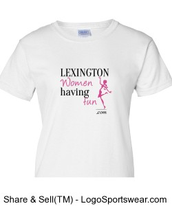 Lexington Women Having Fun T-Shirt Design Zoom
